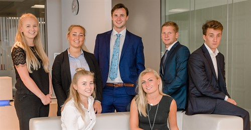 Hawksford has welcomed eight school leavers and graduates on to its training programme