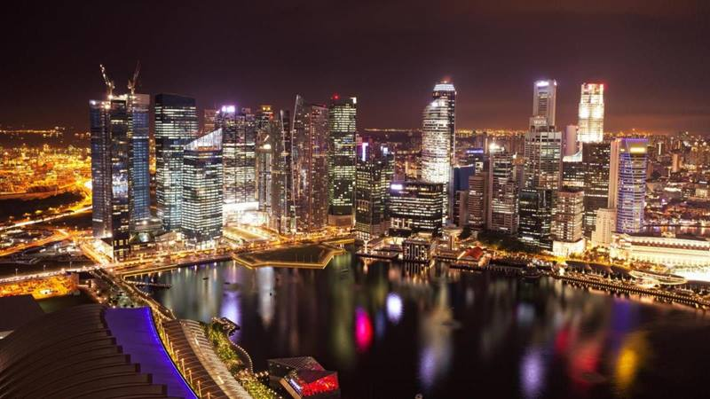 Singapore-Business-District-Skyline