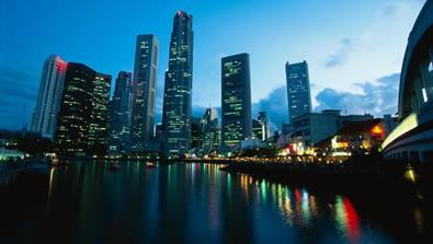 Singapore-Business-District