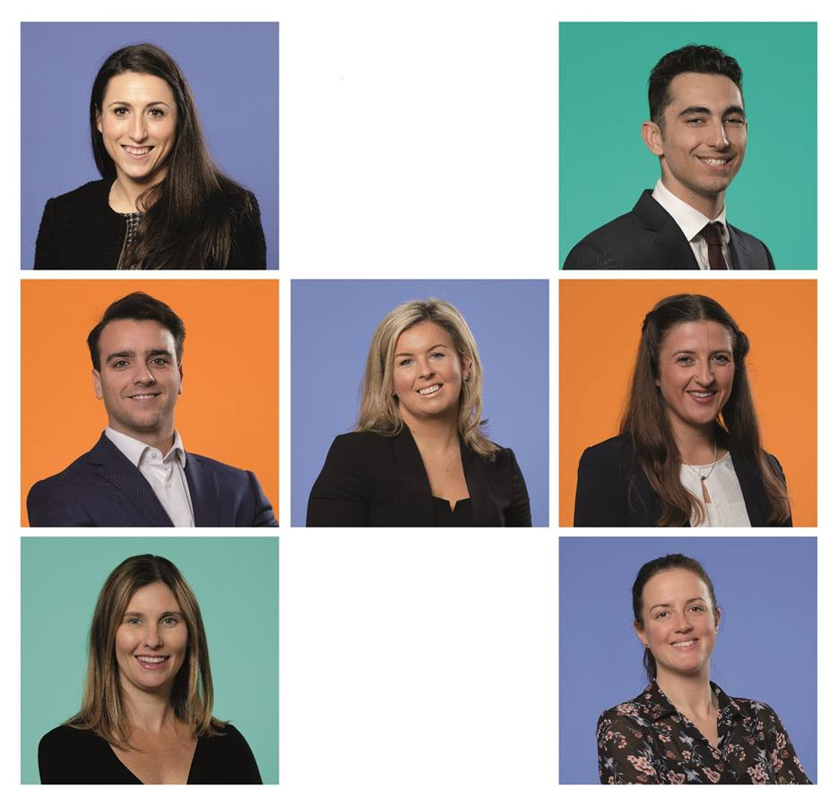 7 images of Hawksford's top 35 under 35 staff members