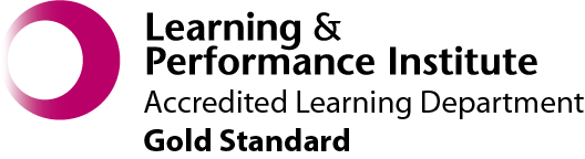 Learning & Performance Institute Accredited Learning Department Gold Standard
